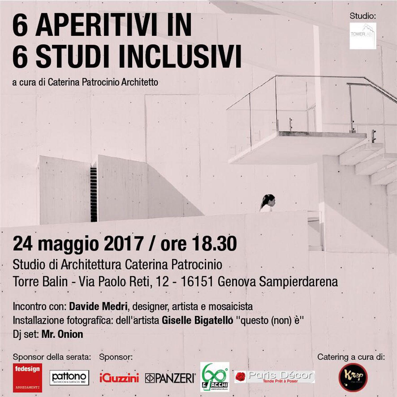 6 aperitivi in 6 studi inclusivi - pattono srl - Pattono Arredo Bagno Genova