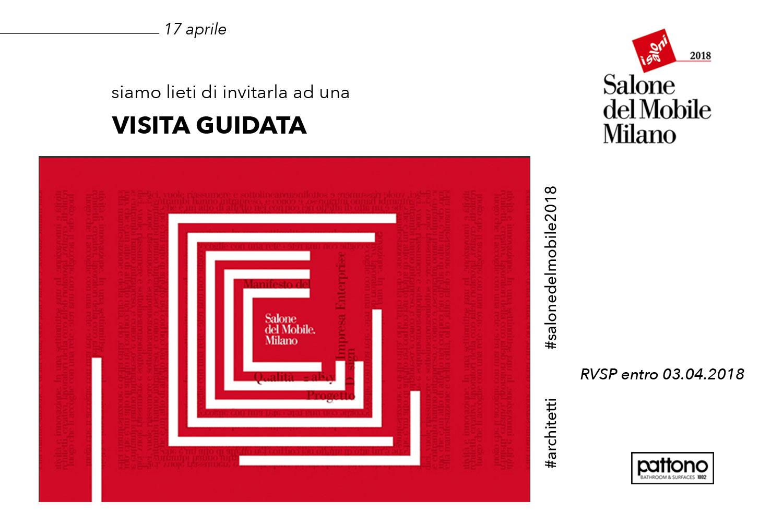 Salone del mobile 2018 visita guidata pattono srl - Salone del mobile prezzo ingresso ...